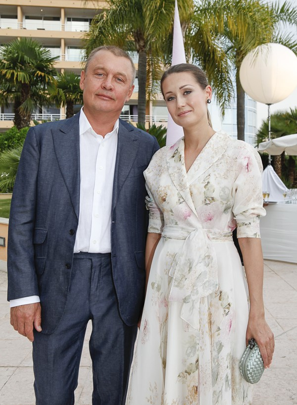 Ирина Курбатова с супругом