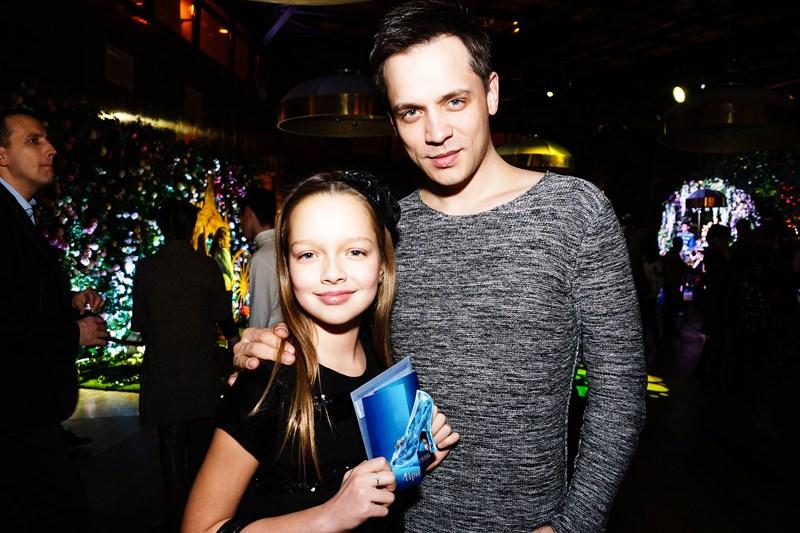 Александр Асташенок с дочерью Викторией