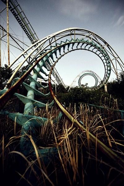 Парк аттракционов Нара Дримлэнд, Япония.