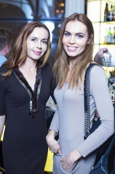 Екатерина Дробыш (справа)