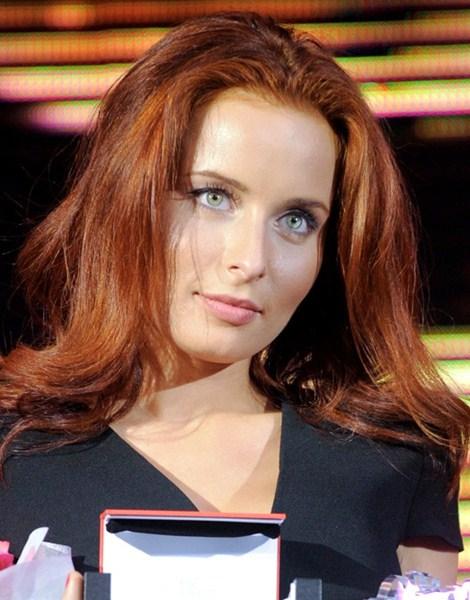 Российская телеведущая Мария Моргун , 30