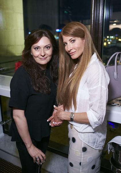 Елена Ваевская и Ольга Андрикопулос