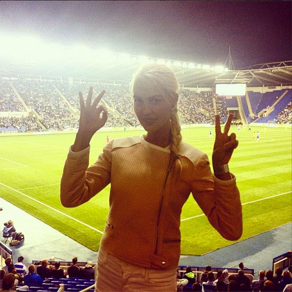 Дизайнер Мария (26), супруга нападающего английского клуба Reading Павла Погребняка (31).