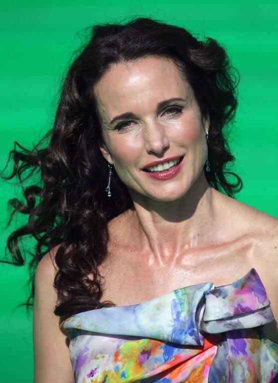Актриса и модель Энди Макдауэлл (56)