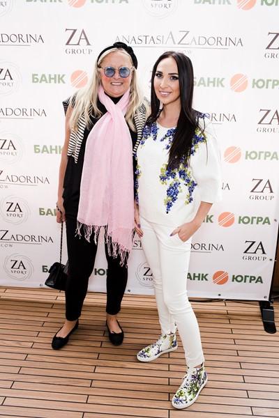 Татьяна Михалкова и Анастасия Задорина