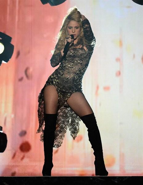 Певица Шакира (38), 157 см