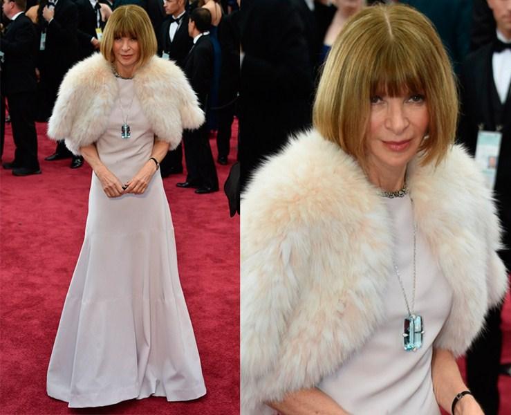 Главный редактор американсого журнала Vogue Анна Винтур (65)