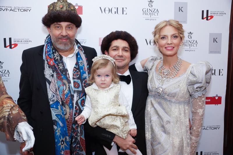 Павел Квплевич, Алексей Боков с дочерью и Анастасия Рагозина