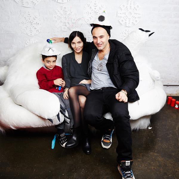 Джабах и Мадина Кахадо с сыном