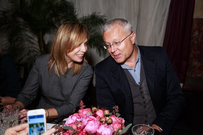 Алена Долецкая и Александр Лебедев