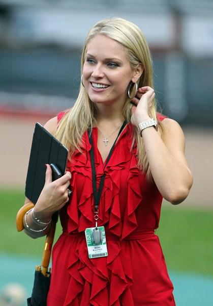 Американская телеведущая Хейди Уотней, 34