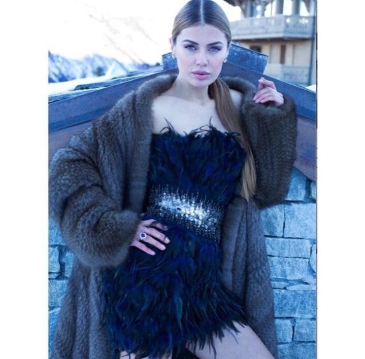 Телеведущая и модель Виктория Боня (35) в Монако