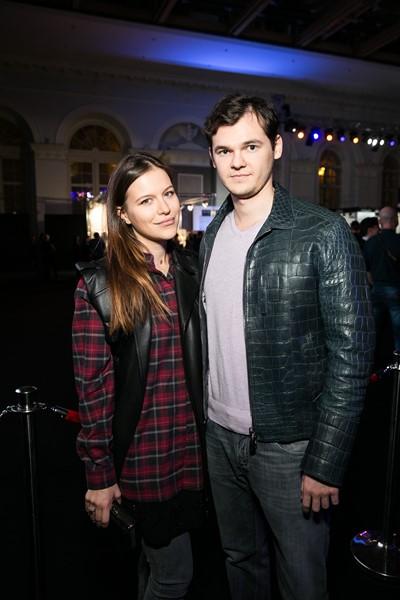 Лада Шефлер с мужем
