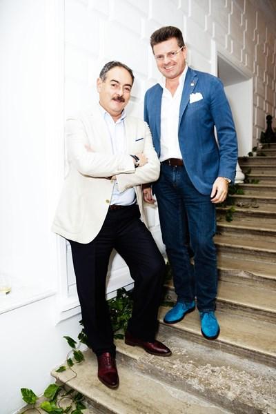 Александр Юдин и Константин Андрикопулос