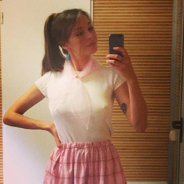 Агния Дитковските (26), актриса