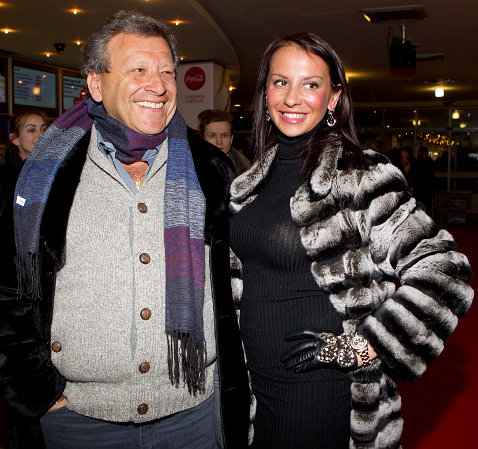 Борис Грачевский (65) и Анна Игнатюк (23)