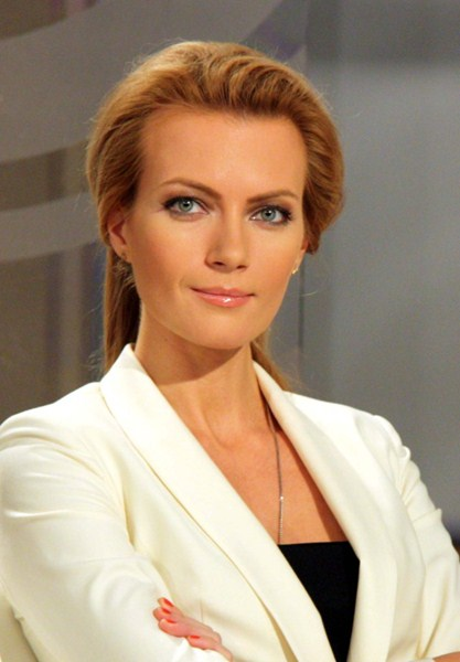 Российская телеведущая Алёна Горенко, 34