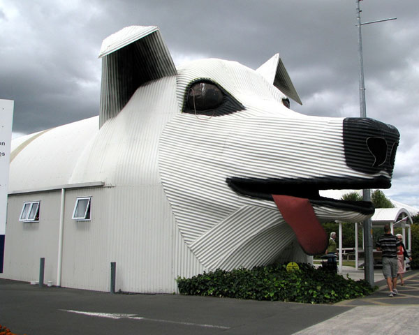 Дом-собака  Тирау, Вайкато, Новая Зеландия.
