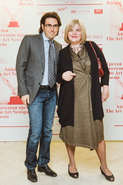 Андрей Малахов и Милена Орлова