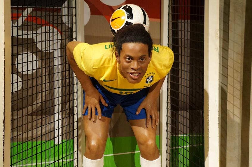 Роналдиньо (34), нападающий мексиканского футбольного клуба Queretaro