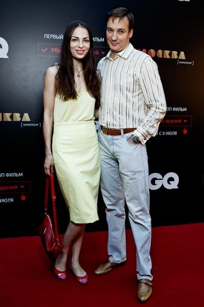 Павел Санаев с супругой