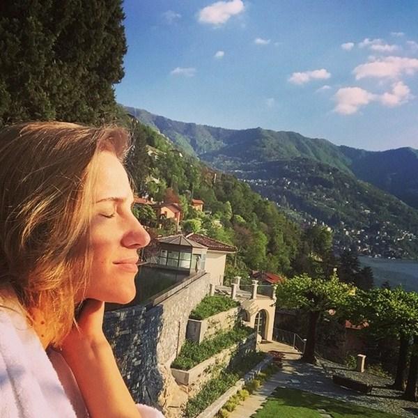 Юлия Ковальчук на отдыхе заряжалась лучами солнца.