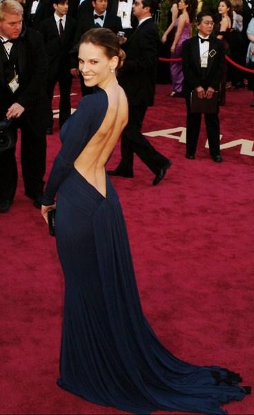 Хилари Суонк в платье Guy Laroche на «Оскаре» 2005