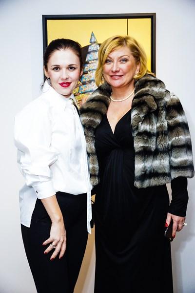 Татьяна Бутенко (слева)