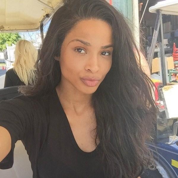 Сиара (29) выходные провела на съемочной площадке и делилась своими селфи #nofilter.