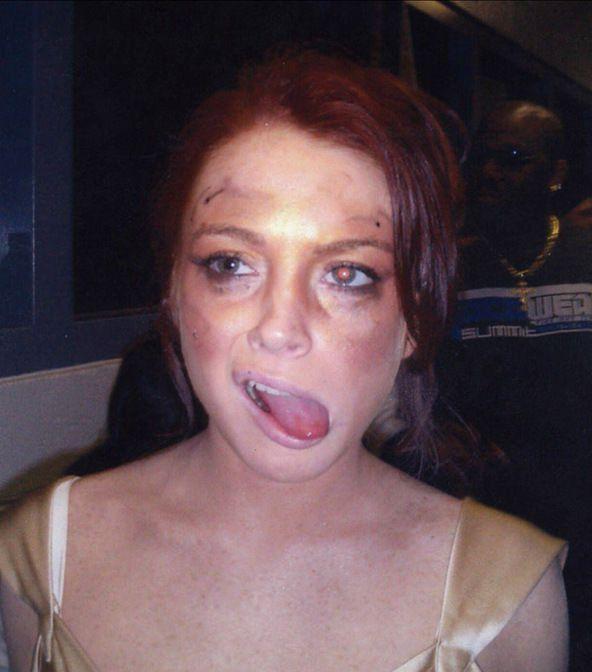 Если увидишь Линдси Лохан (29) во сне - мало не покажется