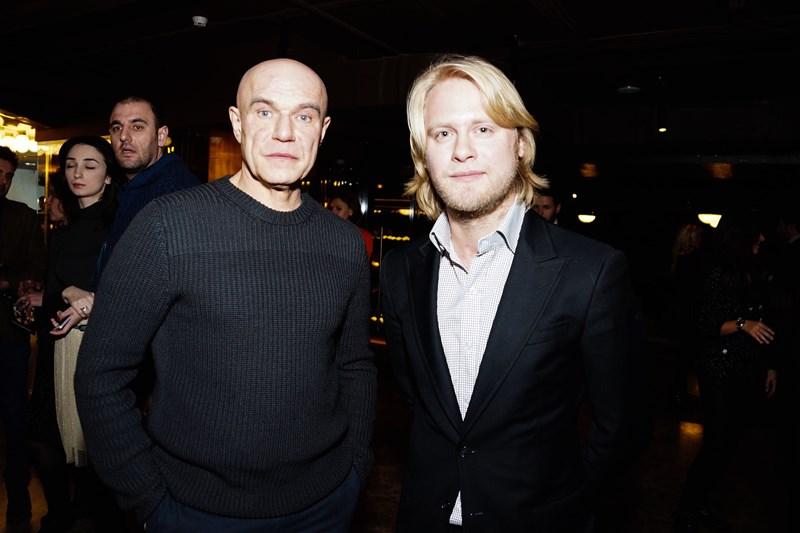 Сергей Мазаев и Илья Стюарт