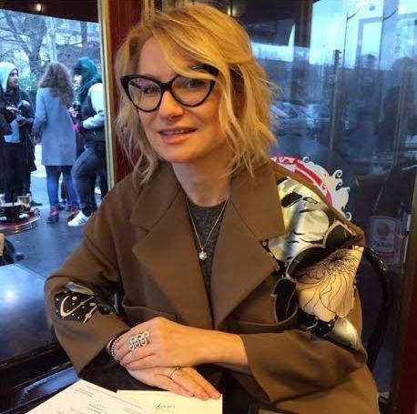 Журналист и телеведущая Эвелина Хромченко (43)