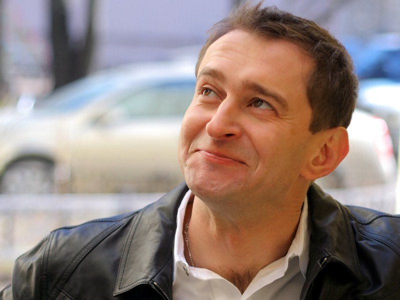 Актер театра и кино Константин Хабенский, 43