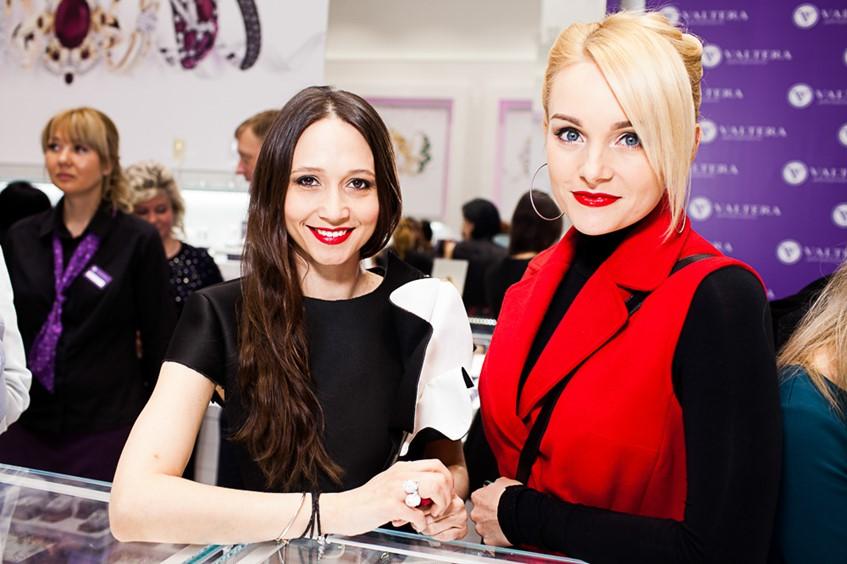 Даша Гаузер и Анастасия Крайнова