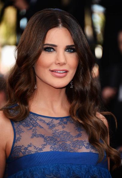 Ливанская телеведущая Мона Абу Хамзе, 42