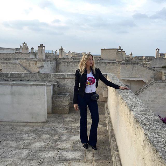 Наташа Стефаненко в своей любимой Италии.