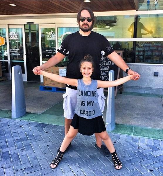 Павел Худяков веселился с дочкой в Майами.