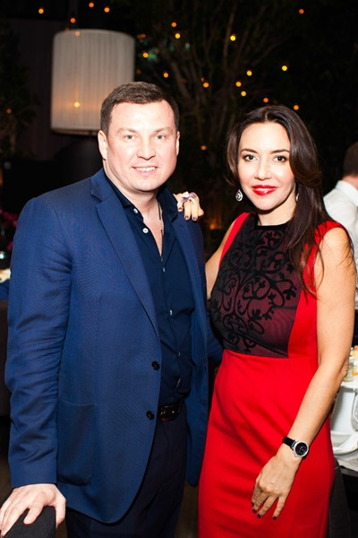 Александо Кожин и Ирина Чайковская
