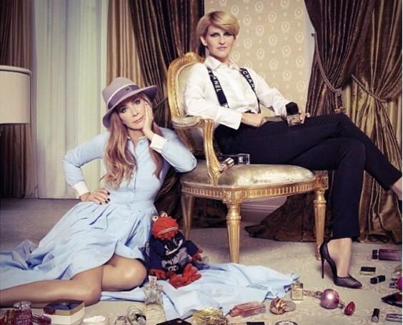 Полина Киценко тосковала по своей подруге Нике Белоцерковской и рассказывала о дружбе со вкусом.