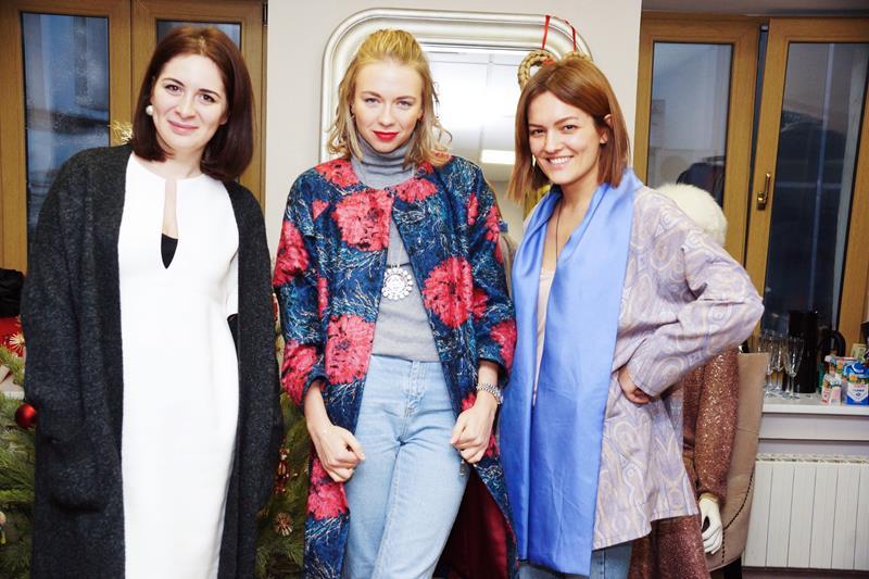 Диана Джанелли, Анжелика Тиманина и Юлиана Салимова