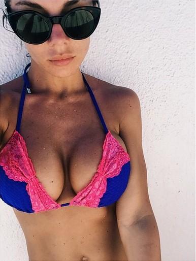Анна Седокова устроила себе каникулы в Мексике.