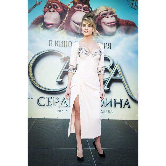 Глюкоза посетила премьеру мультфильма «Савва», который она очень ждала.