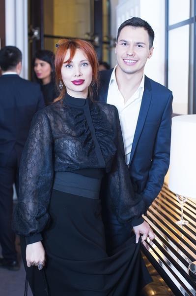 Елизавета Шарикова и Евгений Цюра