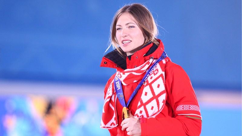 Биатлонистка Дарья Домрачева, 28