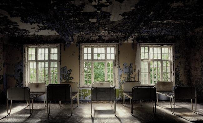 Психиатрическая клиника Лиер Сикехус, Норвегия.