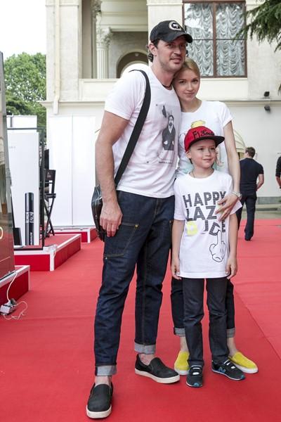 Максим Маринин и Наталья Сомова с сыном