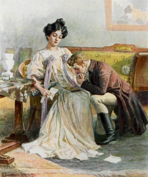 Татьяна Ларина - воспетая Александром Сергеевичем Пушкиным муза, эталон чистоты и прелести,самая романтичная героиня.