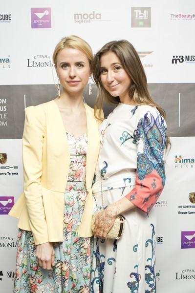 Мирослава Карпович и Мариам Матурелли