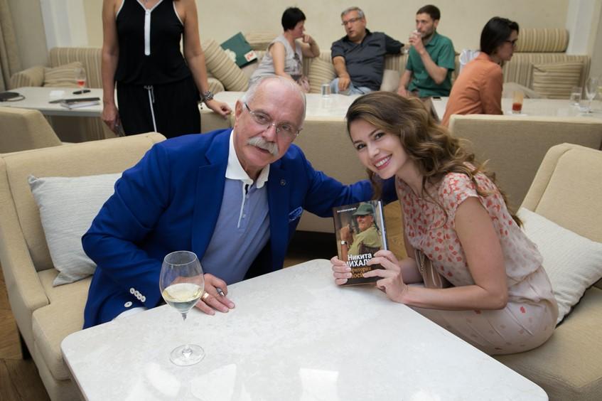 Никита Михалков и Ольга Ушакова