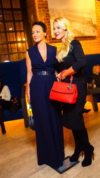 Ольга Новожилова и Екатерина Одинцова